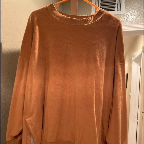 Aerie coziest desert sweatshirt